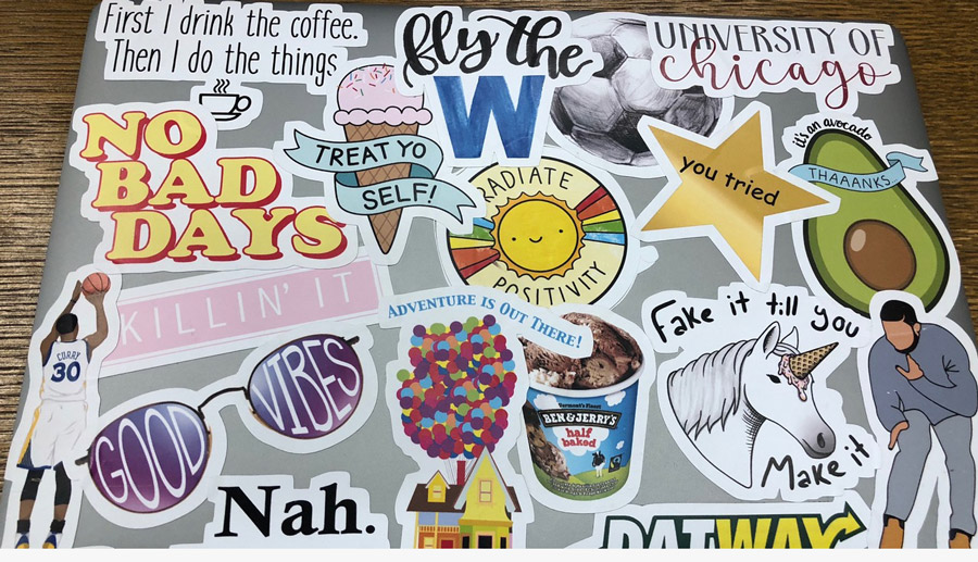 Laptop Stickers And What They Say About The Uchicago Student College Admissions