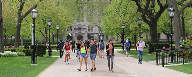 College Admissions at the University of Chicago