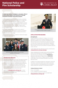 National Police and Fire Scholarship PDF