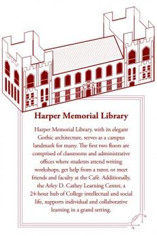 Harper Memorial Library paper model