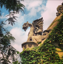 Instagram photo of gargoyle