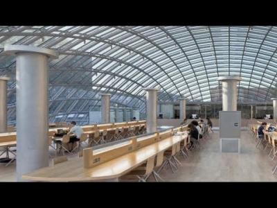 Embedded thumbnail for The Joe and Rika Mansueto Library: How it Works